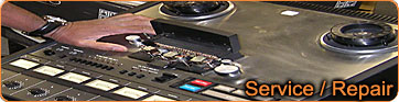 Patrick services and repairs multi tracks and consoles